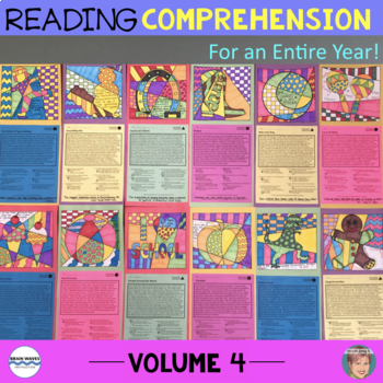 Reading Comprehension Passages & Questions [Vol. 4] (incl Good Luck Charms)