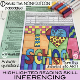 Nonfiction Reading Comp Passages and Questions [Vol. 4] - Great Summer Activity