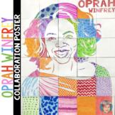 Oprah Winfrey Collaboration Poster - Fun Women's History Month Activity