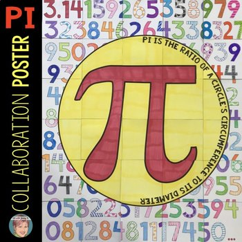 Pi Day Activity | Classroom Collaboration Poster