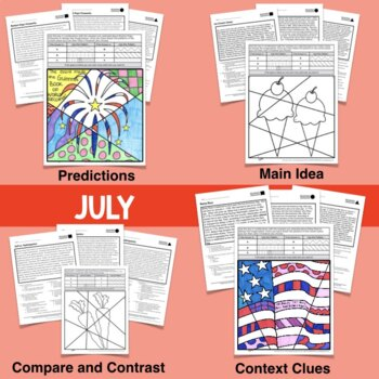 Reading Comprehension ALL YEAR BUNDLE