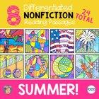 Summer Activity Nonfiction Reading Comprehension