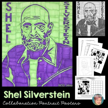 Shel Silverstein Collaboration Poster - Great Poetry Month Activity!