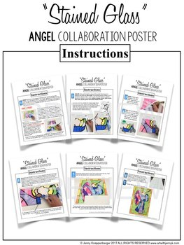 """Stained Glass"" ANGEL Collaboration Poster"
