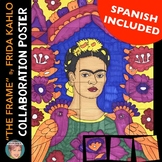 """The Frame"" Frida Kahlo Collab. Poster 