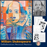 William Shakespeare Collaboration Poster