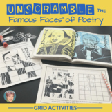 Unscramble the Famous Faces® of Poetry (7 Poets Included!)