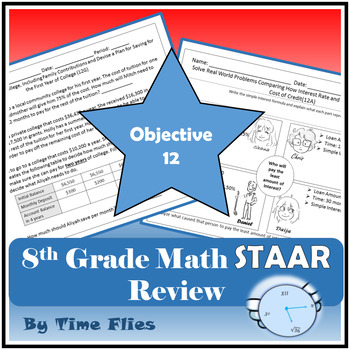 8th Grade Math TEKS Review - Objective 12