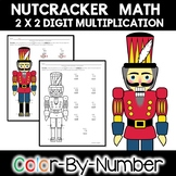 Multi-Digit Multiplication Color by Number Nutcracker Math