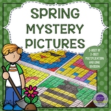 Spring 2 Digit Multiplication and Long Division Puzzles