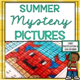 Summer 2 Digit Multiplication and Long Division Worksheets