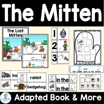 The Lost Mitten Adapted Book and Book Companion Bundle