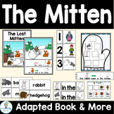 The Lost Mitten Adapted Book-Book Companion Activities