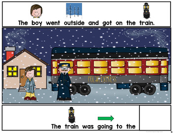 The North Pole Express Adapted Book
