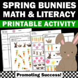 Spring Worksheets Kindergarten Easter Activities Special Education Math Literacy