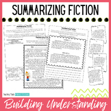 Summarizing Fiction Text / Stories - With Reading Passages and Practice Pages