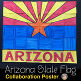 Arizona State Flag Collaborative Poster