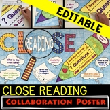 CLOSE READING POSTER - Annotation Marks Quick Reference Guide