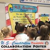 U.S. Constitution Preamble Collaboration Poster: Great CON