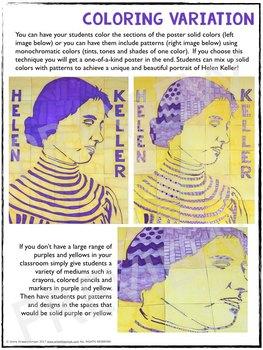 Helen Keller Collaboration Poster