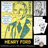 Henry Ford Collaboration Poster for Growth Mindset