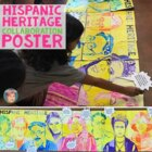 "Hispanic Heritage Month Activity | ""FAMOUS FACES"" Collaboration Poster"