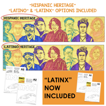 Hispanic Heritage Month | Famous Faces™ Collaboration Poster