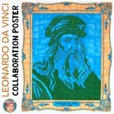 Leonardo da Vinci Collaboration Poster