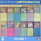 12 Nonfiction Reading Comprehension Passages with Art Activities - Volume 1