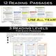 12 Nonfiction Reading Comprehension Passages Vol. 2 - Incl