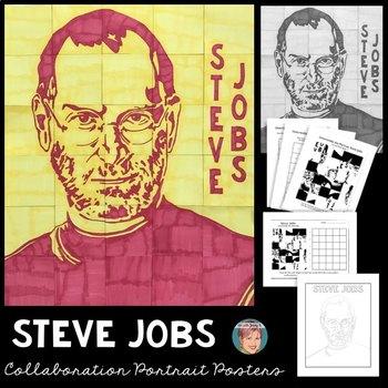 STEVE JOBS Collaboration Poster