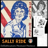 Astronaut Sally Ride Collaboration Poster - Great Women's History Month Activity