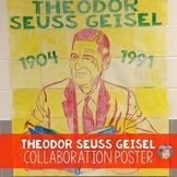 Theodor Seuss Geisel  Collaborative Portrait Poster