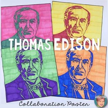 Thomas Edison Collaboration Poster