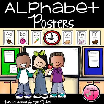 Alphabet Posters   Brights