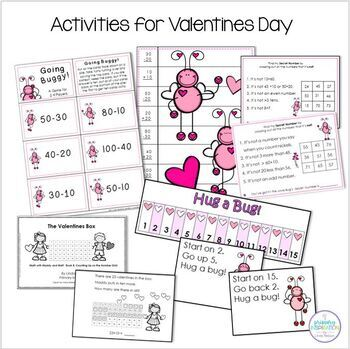 Add and Subtract Multiples of Ten - Love Bug!
