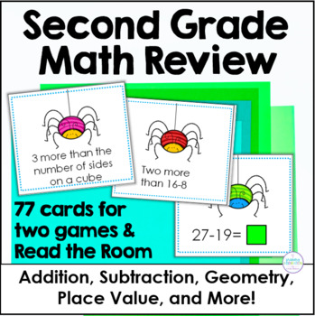 Second Grade Math Review Game