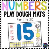 Number Playdough Mats 11-20