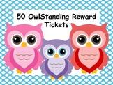 50 Owlstanding Reward Tickets