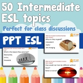 50 PPT's for class discussions.