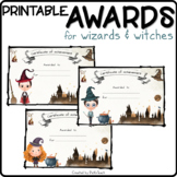 PRINTABLE award certificates for Harry Potter fans - ANY SUBJECTS
