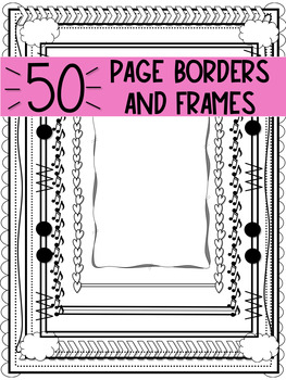 50 Page Borders and Frames