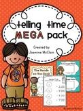 Telling Time Mega Pack
