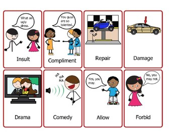 50 Pairs of Antonyms Represented by Pictures - Level 3 (2nd, 3rd, 4th grades)
