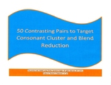 50 Pairs of Consonant Cluster/Blend Reduction - Sentence C