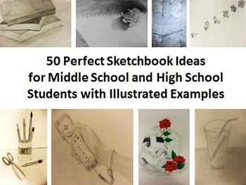 50 Perfect Sketchbook Ideas for Middle and High School Students by ...