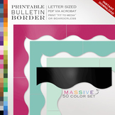 Bulletin Board Border - 50 Options