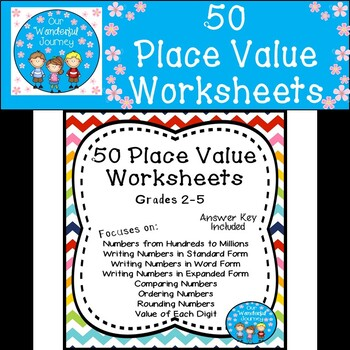 50 place value worksheets for grades 2 5 by our wonderful journey. Black Bedroom Furniture Sets. Home Design Ideas
