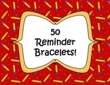 50 Printable Reminder Bracelets