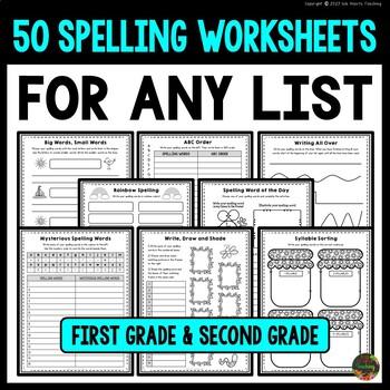 Spelling Activities for Spelling Practice